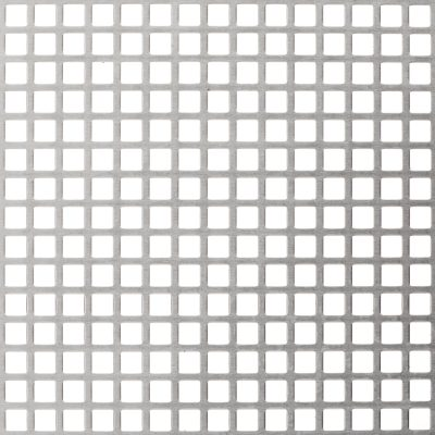 S08053 Perforated Metal Sheet: 8mm Square, 53% Open Area